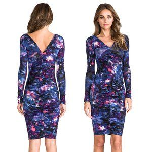 Rachel Pally Galaxy Ruched Bodycon Dress | S